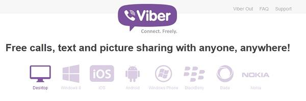 viber for mobile phones and computer