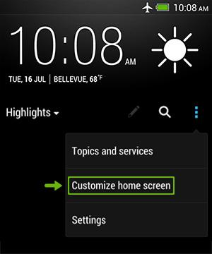 HTC BlinkFeed - Changing your homescreen