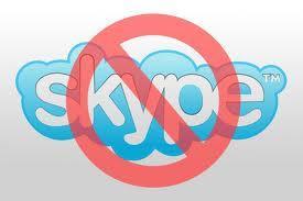 Block Skype client