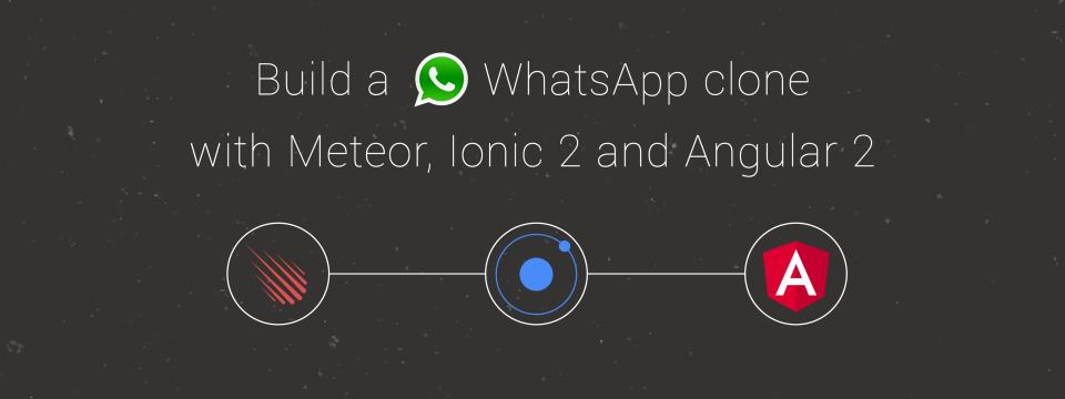 Ionic 2 and Meteor