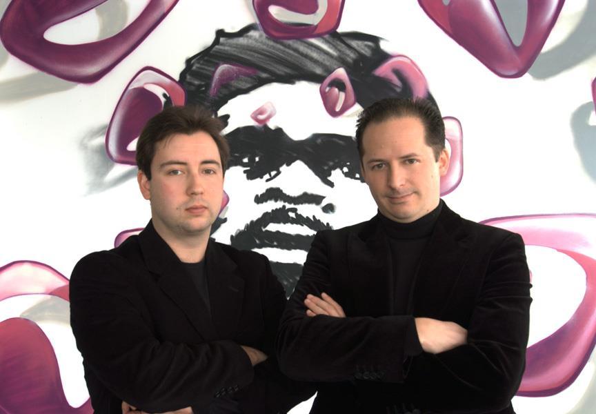The JAJAH founders: Roman Scharf and Daniel Mattes
