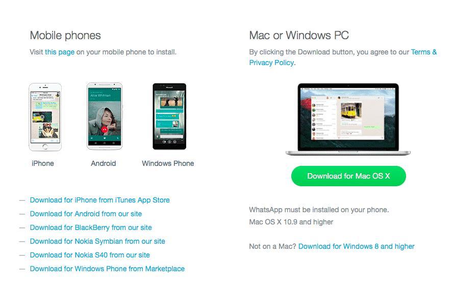 Whatsapp Desktop App