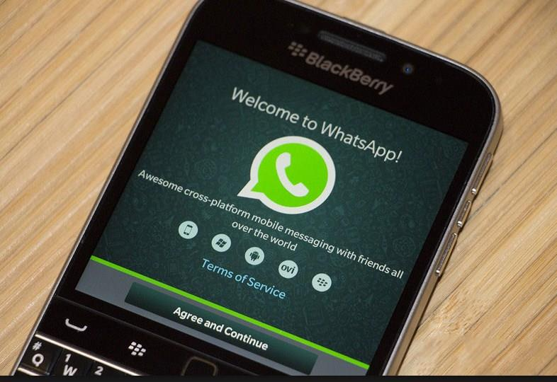 WhatsApp Peak Into Future - Blackberry Support is Ended
