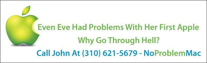 No Problem Mac - 310-621-5679 Blog Ad