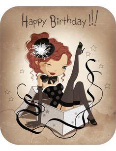 Hot birthday wishes Image