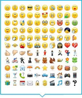 Skype for Business emoticons