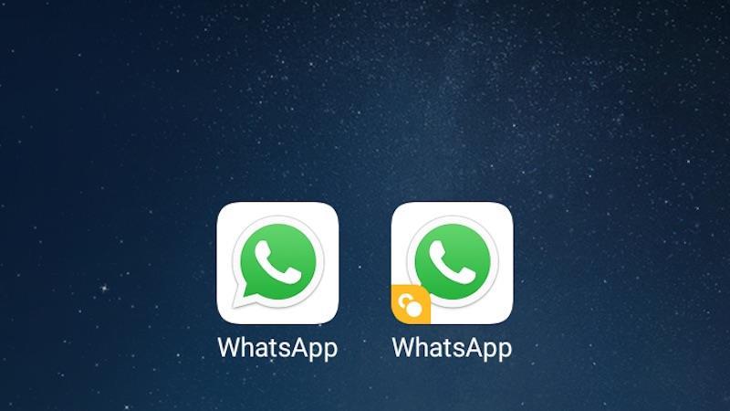 two whatsapp WhatsApp