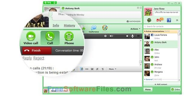 download icq for window 7