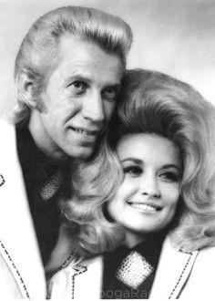 Porter Wagoner and Dolly Parton, circa 1970
