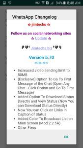 WhatsApp plus JiMODs v5.70 Jimtechs Editions