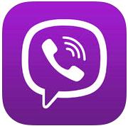 Viber 4.2 for iOS (app icon, small)