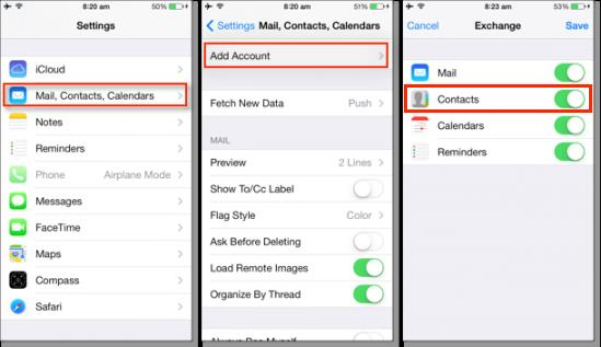 Retrieve Deleted iPhone Contacts from Google Contacts or Other Cloud Services