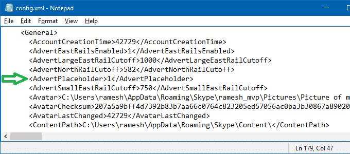 block skype ads in windows