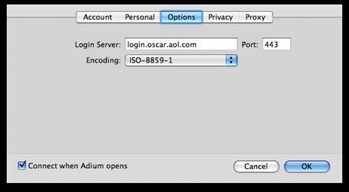 Adium ICQ