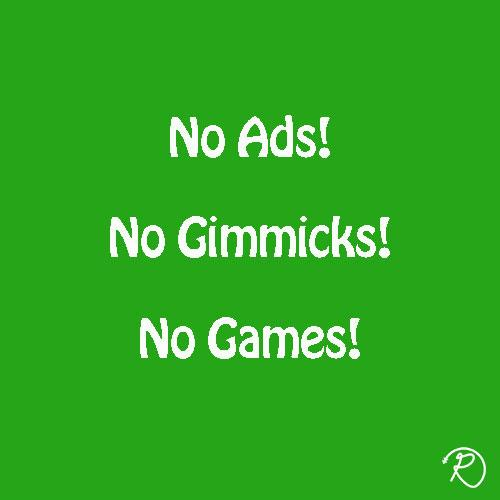 Ads, Gimmicks, Games
