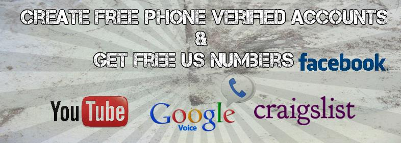 Image Containing Logos of Craigslist, Youtube, Facebook and Google Voice
