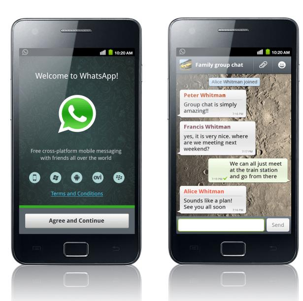 download whatsapp for samsug and tablet pc