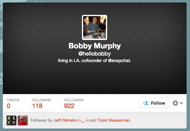 Bobby Murphy Twitter