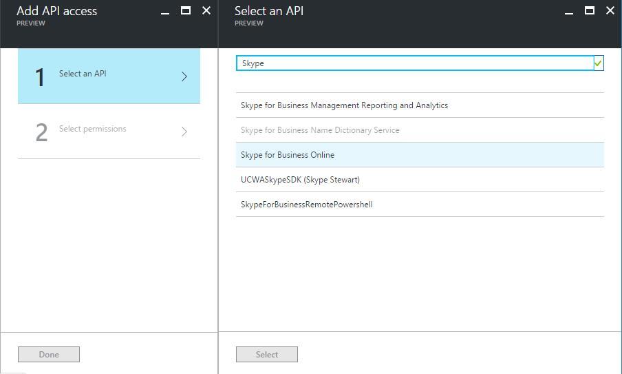 Azure Portal - AAD - Permissions