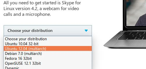 Download Skype 4.3 for Linux