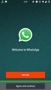 change Whatsapp Bubble color