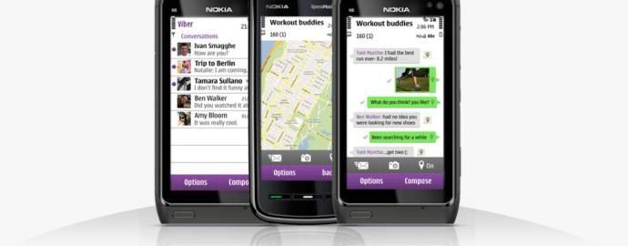 Viber for Nokia Asha 501, 305, 306, 308, 303, 310, 311 :