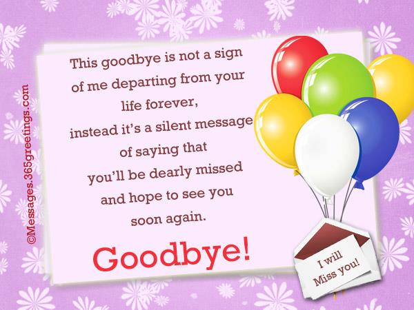 goodbye-card-messages