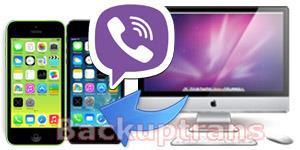 Copy Viber Chat History from Mac to iPhone