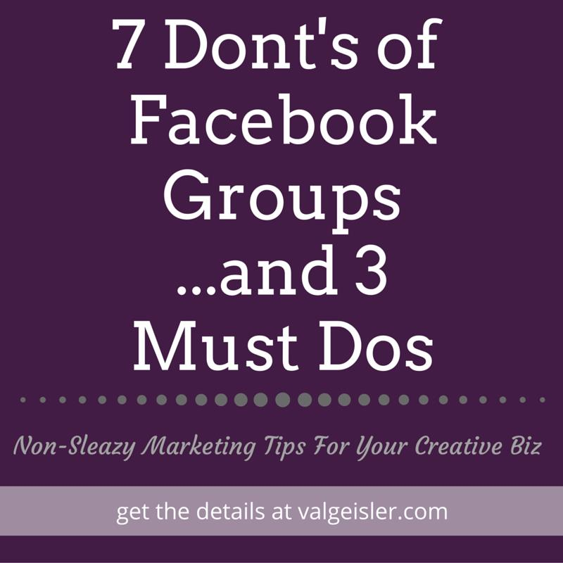 7 don'ts of facebook group marketing