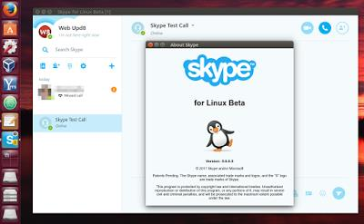 Skype For Linux Beta