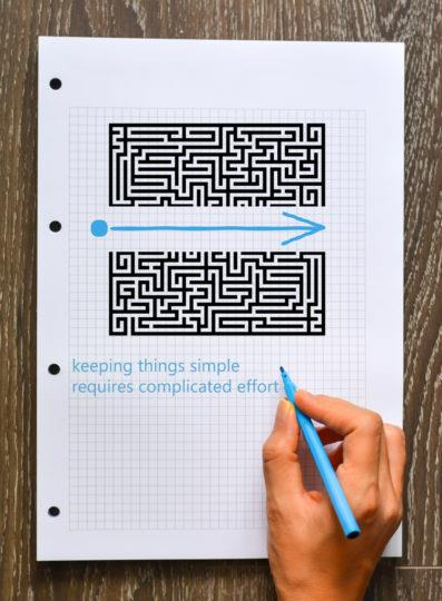 Keep it simple