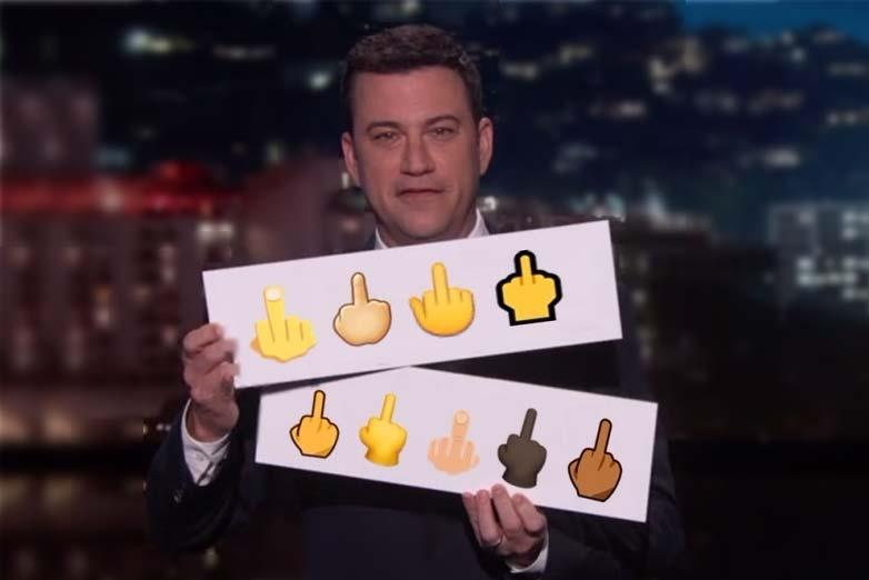 how to get the middle finger emoji