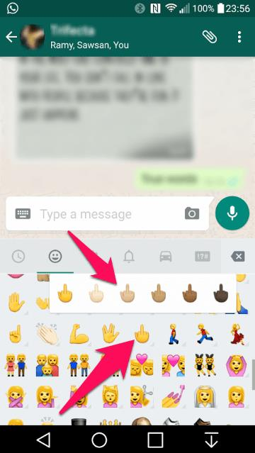 middle finger emoji copy and paste whatsapp