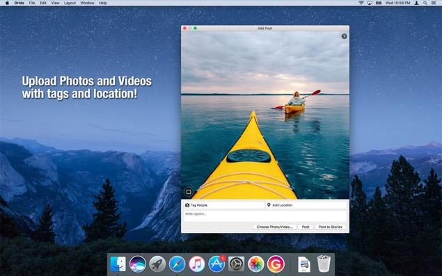 Grids for Instagram - Mac
