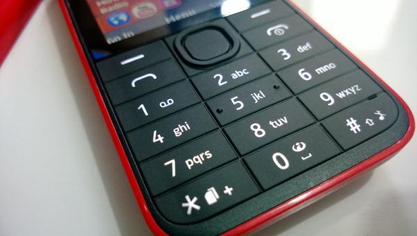 Nokia 208 Keypad