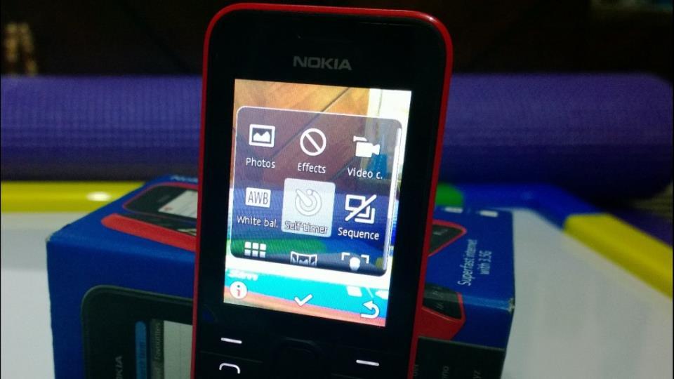 Nokia 208 Camera Software