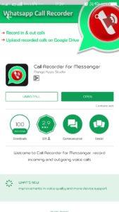 How to enable WhatsApp Call recording on an Android