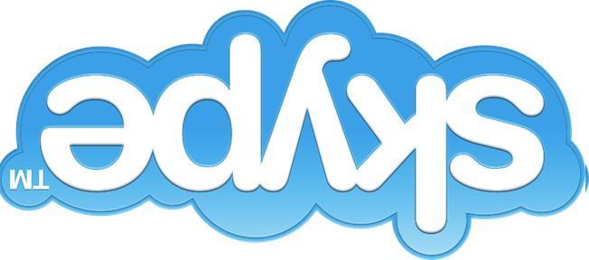 skype upside down