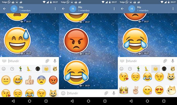 stickers de telegram para android