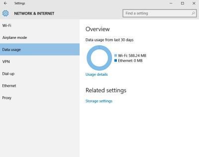 Network settings Windows 10 3