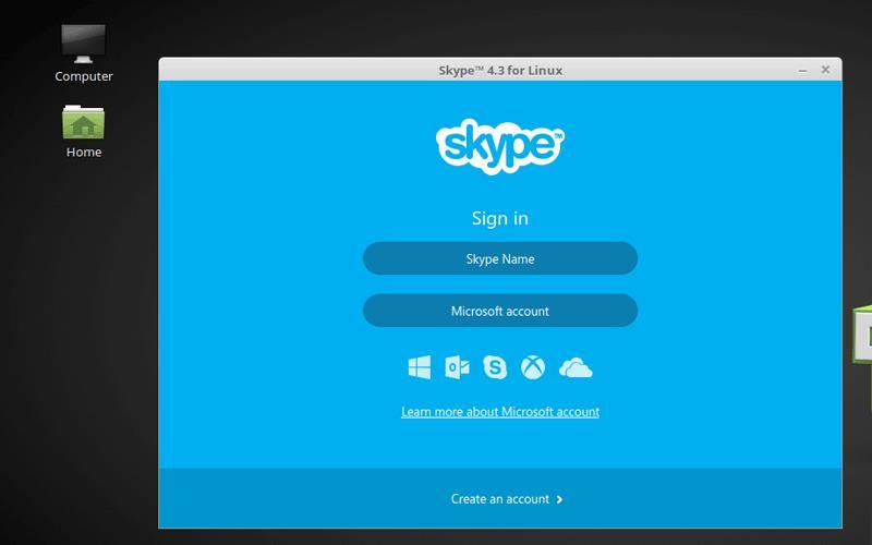 Linux Mint Skype
