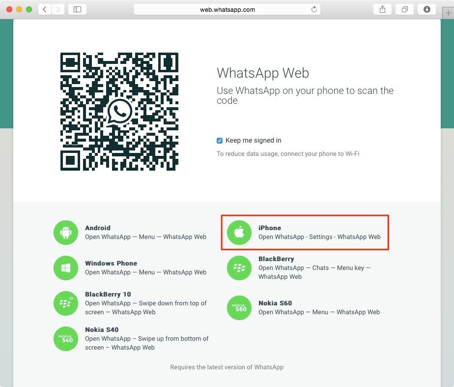WhatsApp Web screenshot 006