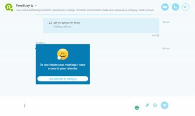 FreeBusy Best Skype Bots