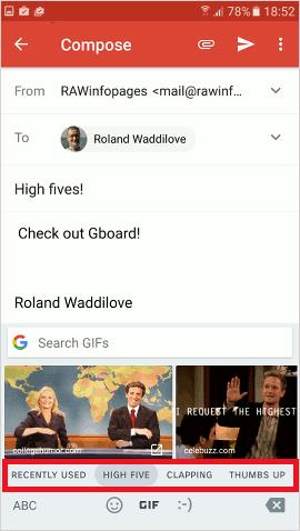 Gboard alternative keyboard for Android