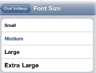 whatsapp-font-settings