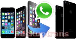 Copy WhatsApp Chat History from iPhone 6S/6/5S/5/4S to iPhone 7/7 Plus