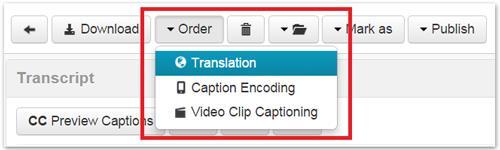 Order Translation