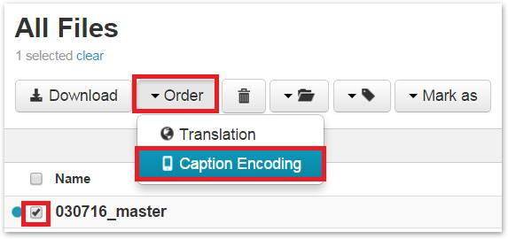 Encoding captions to MP4 - Adding captions to a GoToMeeting recording