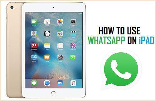 WhatsApp on iPad