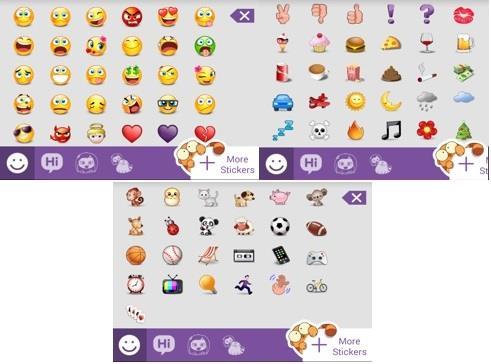 viber emoticons list